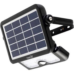 Proiector LED cu panou solar si senzor de miscare HOME FLP 500 SOLAR, 10W, 500 lumeni, negru CIEFLP500SOLAR