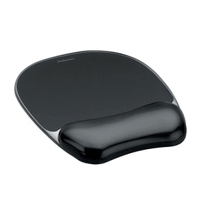 Mouse Pad FELLOWES Crystal FWS0021, negru PBTFWS0021