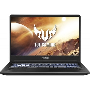 "Laptop Gaming ASUS TUF FX705DT-H7116, AMD Ryzen 5-3550H pana la 3.7GHz, 17.3"" Full HD, 8GB, SSD 512GB, NVIDIA GeForce GTX 1650 4GB, Free Dos, Stealth Black LAPFX705DTH7116"