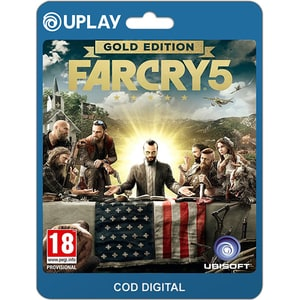 Far Cry 5 Gold Edition PC (licenta electronica Uplay) SRVCDM1010111