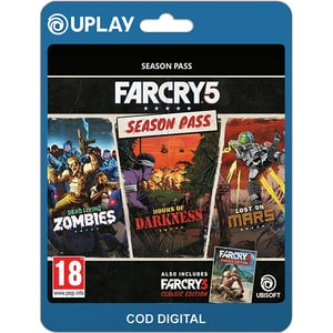 Far Cry 5 Season Pass PC (licenta electronica Uplay) SRVCDM1010112