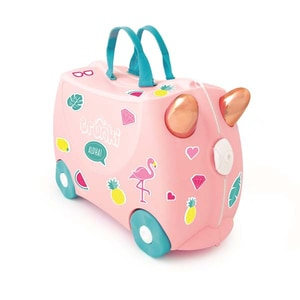 Troler copii TRUNKI Flossy The Flamingo 0353-Gb01, 31 cm, roz VTR0353GB01