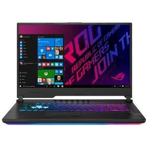 "Laptop Gaming ASUS ROG Strix G G731GV-EV041T, Intel Core i7-9750H pana la 4.5GHz, 17.3"" Full HD, 16GB, SSD 512GB, NVIDIA GeForce RTX 2060 6GB, Windows 10 Home, negru LAPG731GVEV041T"
