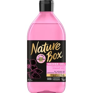 Gel de dus NATURE BOX Migdala, 385ml GELHBNB0014
