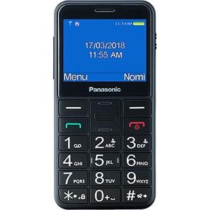 Telefon mobil PANASONIC KX-TU150EXR, buton SOS, 2G, Single SIM, Black GSMKXTU150XBK