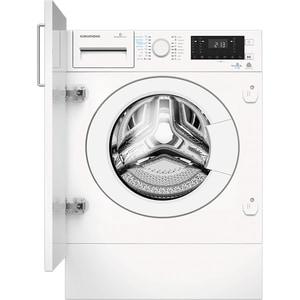 Masina de spalat rufe incorporabila cu uscator GRUNDIG GWDI854, 8/5kg, 1400rpm, Clasa A, alb MSFGWDI854