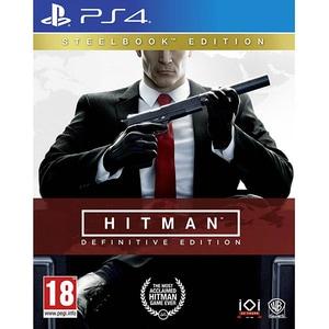 Hitman: Definitive Edition Steelbook Edition PS4 JOCPS4HITMANDSE