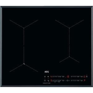 Plita incorporabila AEG IAE64431FB, Inductie, 4 arzatoare, Touch control, negru PLTIAE64431FB