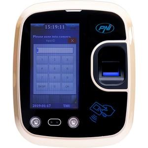 Sistem de pontaj biometric PNI Face 600, amprenta, recunoastere faciala, card, negru INSPNIFBE600