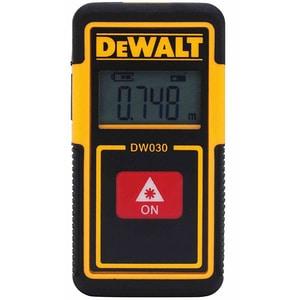 Telemetru digital DEWALT DW030PL, Distanta 9m, negru-galben APMDW030PL