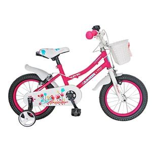 """Bicicleta de copii JUNIOR J1602A, 16"""", roz BCLJ1602APINK"""