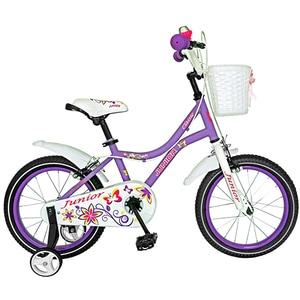 """Bicicleta pentru copii JUNIOR J1602A, 16"""", mov BCLJ1602APURPLE"""