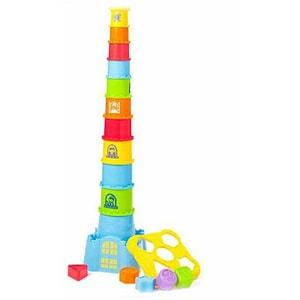 Jucarie sortare LITTLE LEARNER Primul meu castel 4250, 12 luni+, multicolor JBB4250
