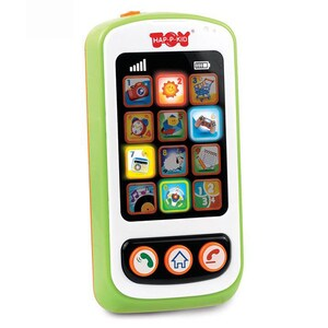 Jucarie interactiva LITTLE LEARNER Primul meu Smartphone 4281T, 12 luni+, multicolor JBB4281T