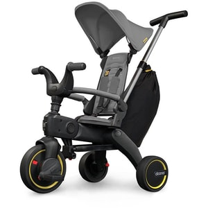 Tricicleta DOONA Liki Trike S3 SP53099030041, 10 luni - 3 ani, gri inchis JEXSP5309903041