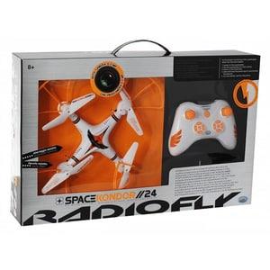 Drona cu radiocomanda RADIOFLY 37998J, 8 ani+, alb-portocaliu JIN37998J