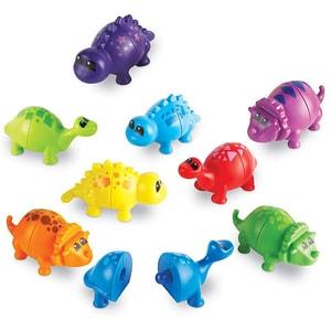 Set dinozauri jucausi LEARNING RESOURCES LER6708, 2 - 6 ani, multicolor JINLER6708