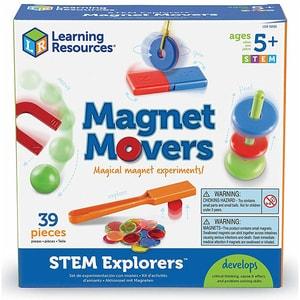 Set STEM LEARNING RESOURCES Magie cu magneti LER9295, 5 - 9 ani, multicolor JINLER9295