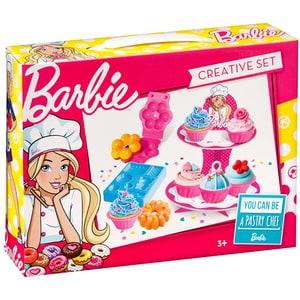 Jucarie de rol MEGA CREATIVE Barbie cofetarie MC339651, 3 ani+, multicolor JINMC339651