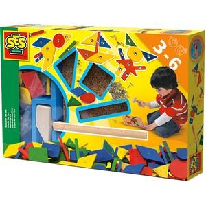 Set de joaca creativ SES Hammer-Tic S00941, 3 ani+, multicolor JINS00941