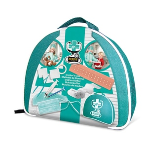 Joc de rol SES Rescue World Doctor's Case Toy S09201, 5 ani+, verde-alb JINS09201