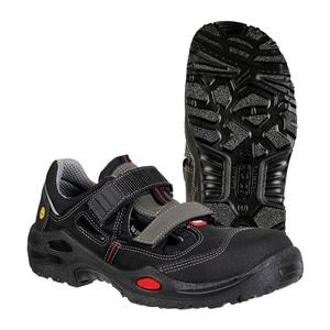 Sandale de protectie JALAS 1605 S1P SRC, bombeu aluminiu, PU, marime 39, negru EPRJL000139