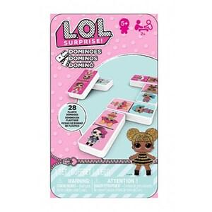 Joc de societate LOL Surprise Domino 6052514, 5 ani+, 2 - 4 jucatori JOC6052514