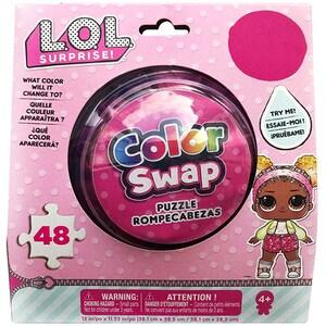 Puzzle LOL Color Swap 6053795, 4 ani+, 48 piese JOC6053795
