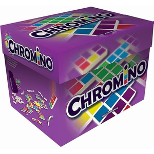 Joc de societate ASMODEE Chromino CHR004RO, 6 ani+, 2 - 8 jucatori JOCCHR004RO