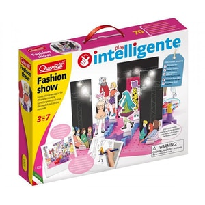 Joc constructie QUERCETTI Georello Fashion Q2323, 3 - 7 ani, 85 piese JOCGEOQ2323