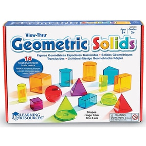 Forme geometrice LEARNING RESOURCES LER4331, 8 - 12 ani, multicolor JOCLER4331