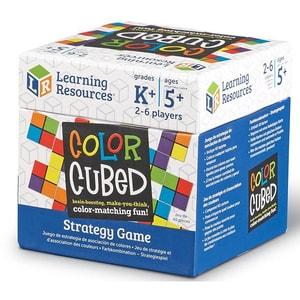 Joc de strategie LEARNING RESOURCES Cubul culorilor LER9283, 5 - 9 ani, multicolor JOCLER9283