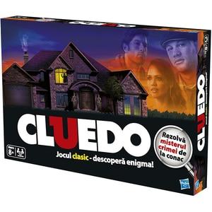 Joc de societate HASBRO Cluedo Clasic al Misterelor 387121, 8 ani+, 2 - 4 jucatori JOCLU387121