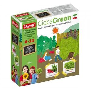 Joc educativ QUERCETTI Micul gradinar cultiva salata si ridichii Q0680, 4 - 10 ani JOCMGQ0680