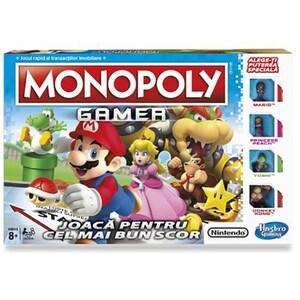 Joc de societate HASBRO Monopoly Gamer C1815, 8 ani+, 2 - 4 jucatori JOCMONC1815