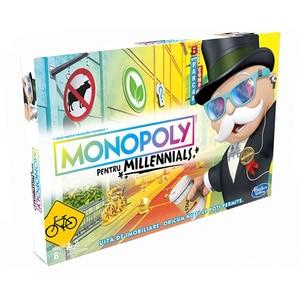 Joc de societate HASBRO Monopoly Millennials E4989, 8 ani+, 2 - 4 jucatori JOCMONE4989
