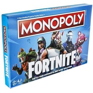 Joc de societate HASBRO Monopoly Fortnite E6603, 13 ani+, 2 - 4 jucatori JOCMONE6603
