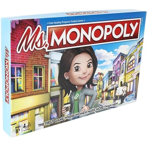 Joc de societate HASBRO Miss Monoploy E8424, 8 ani+, 2 - 4 jucatori JOCMONE8424