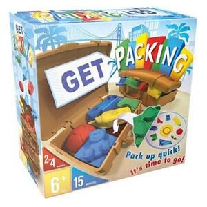 Joc de societate ASMODEE Get Packing SF01RO, 6 ani+, 2 - 4 jucatori JOCPACKSF01RO