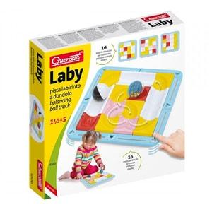 Joc educativ QUERCETTI Labirint cu bile Q6500, 18 luni - 5 ani, 16 piese JOCQ6500