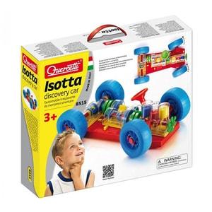Joc constructie QUERCETTI Isotta Discovery Car Q8515, 3 ani+, 9 piese JOCQ8515