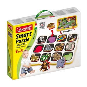 Puzzle QUERCETTI Smart Savana Q0232, 18 luni - 5 ani, 12 piese JOCSMPQ0232