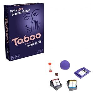 Joc de societate HASBRO Taboo A4626, 13 ani+, 6 jucatori JOCTABA4626