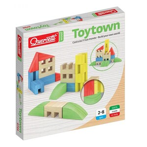 Joc constructie QUERCETTI Toytown Q0704, 2 - 8 ani, 22 piese JOCTOYQ0704