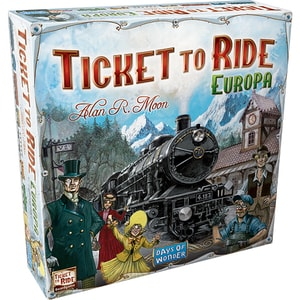Joc de societate ASMODEE Ticket to Ride Europe 721802, 8 ani+, 2 - 5 jucatori JOCTTR721802