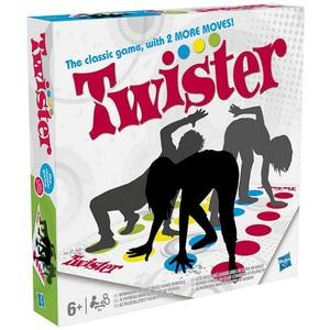 Joc de societate HASBRO Twister 98831A, 5 ani+, 2 - 4 jucatori JOCTWIS98831A