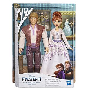 Set papusi HASBRO Disney Frozen II Romance Anna si Kristoff E5502, 3 ani+, multicolor JUCFRZE5502