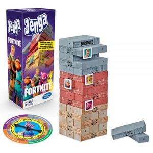Joc de societate HASBRO Jenga Fortnite E9480, 8 ani+, 2 - 4 jucatori JUCJENGE9480