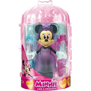Figurina DISNEY Minnie Mouse cu accesorii de frumusete 182172,  3 ani+, multicolor JUCMIN182172