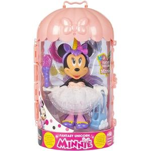 Figurina DISNEY Minnie Mouse cu accesorii - Fantasy unicorn 185746, 3 ani+, multicolor JUCMIN185746